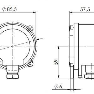 Javljač diferencialnog tlaka-ANDDDW-2