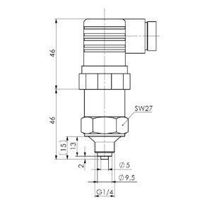 Osjetnik tlaka- ANDDT1-3