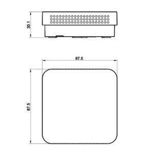 Prostorni osjetnik kvalitete zraka sa LED prikazom- ANDRALQA-U_ANDRALQA-I-2
