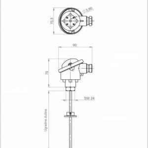 Visokotemperaturni osjetnik-ANDHTFB1-3