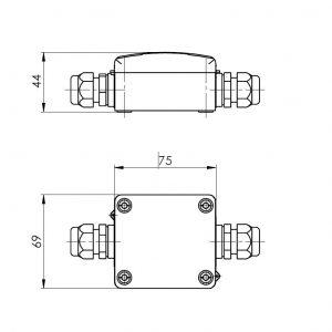 Mjerni pretvarač temperature za PT1000-ANDMIG-ANDMUG-2