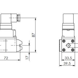 Mjerni pretvornik tlaka i diferencijalnog tlaka ANDFDE40-1