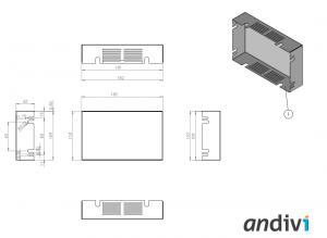 Kutija za zaslon na dodir__touchscreen_Ploska montaza