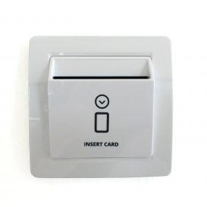 Prekidac za ustedu energije-odlagac kartice_bijela