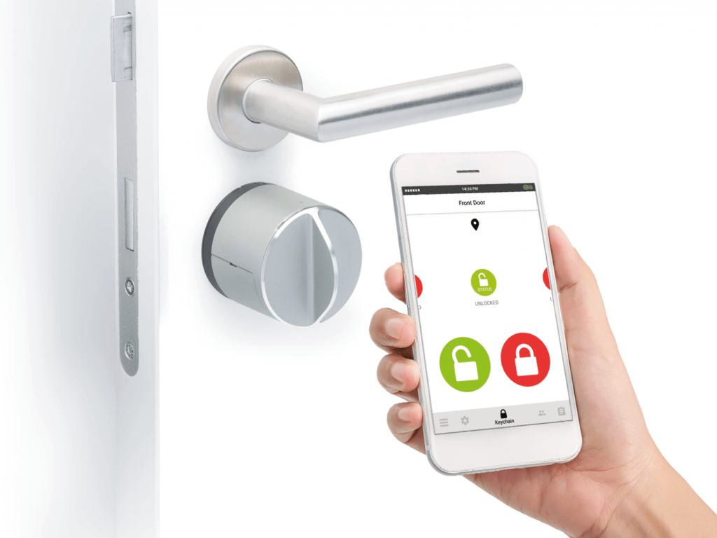 otkljucavanje pomocu pametnog telefona - Pametna brava za vrata - Danalock