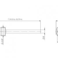 Zastitna cahura od nehrdajuceg celika s G½ unutarnjim i vanjskim navojem ANDTHVA3_2