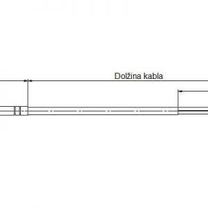 Mobus kabelni površinski temperaturni osjetnik - ANDKBTF-MD 2