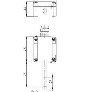 Modbus kombinirani vanjski osjetnik temperature i relativne vlažnosti - ANDARFT-R-MD-S 2