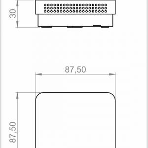 Modbus prostorni osjetnik temperature nadžbukni (plastično kućište) - ANDRTF3-MD 2