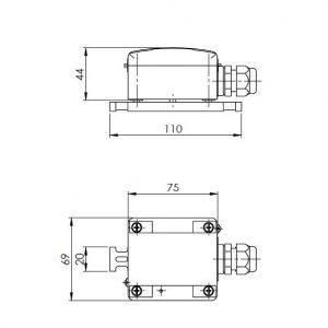 Javljač kondenzacije ANDKDW-1