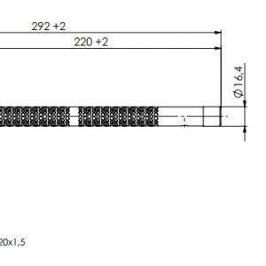 Kanalski higrostat za unutranju ili vanjsku montažu- ANDKHY-2
