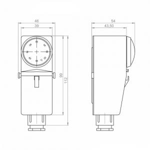 Nalijegajući termostat za vanjsku montažu_ANDANTH3