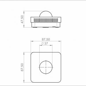 Osjetnik zračenja – unutarnja montaža-ANDRSTF-2