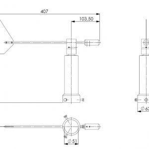 Senzor za smjer vjetra ANDWM2-2