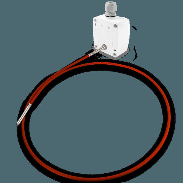Uranjajući osjetnik temperature sa fleksibilnim silikonskim kablom-ANDKNTFF-1