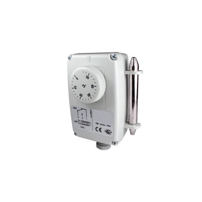 Uranjajući termostat s udaljenom sondom- jednostupanjski-ANDKTTH1-1