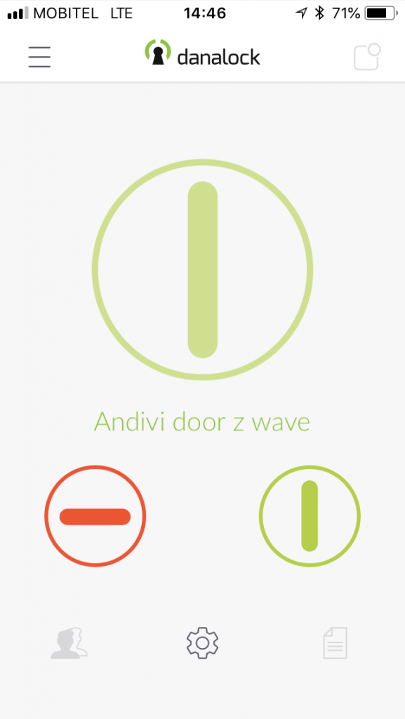 Danalock-Aplikacija-1-mobilno-otkljucavanje