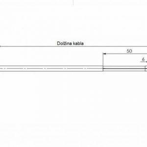 Modbus površinski osjetnik temperature za ravne površine - ANDOBTF-MD 2