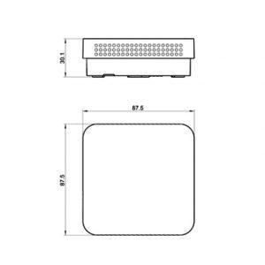 Modbus prostorni osjetnik kvalitete zraka - ANDRALQ-MD 2
