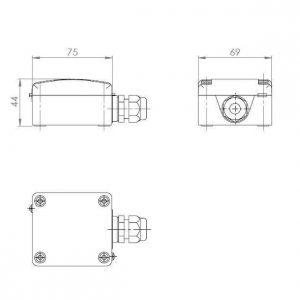 Modbus vanjski osjetnik temperature - ANDAUTF-MD 2