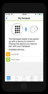 Danapad mobilna aplikacija 1