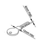 mjere ključ