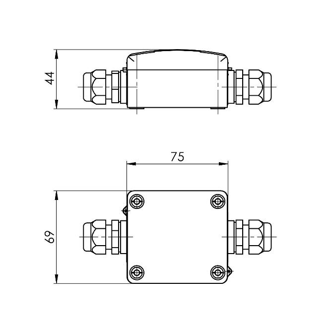 Modbus navojni senzor G12″ ANDESFMD tehnička