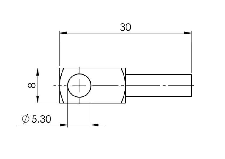 Modbus senzor temperature za površine ANDOBTFMD tehnička 2
