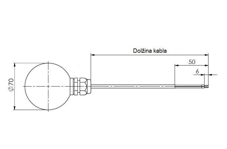 Modbus senzor zračenja ANDSTFMD tehnička 2