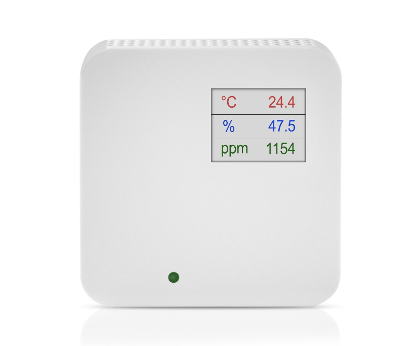 Sobni senzor za CO2 ANDRACO2 LCD display