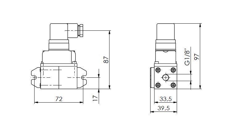 Pretvarač diferencijalnog tlaka ANDFDE40 tehnička
